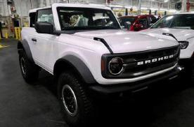 福特小众两门版Bronco 骨架类似牧马人 2.3T配备四驱