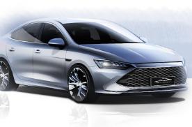 比亚迪全新轿车正式命名秦PLUS,成功演绎高阶设计美学