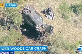 """高尔夫球巨星""""老虎""""伍兹车祸重伤,现代汽车质量和安全性遭质疑"""