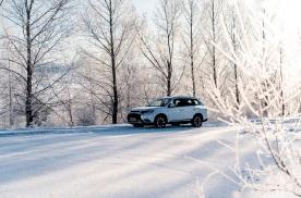 试驾 踏雪寻欢 冰雪试驾广汽三菱欧蓝德