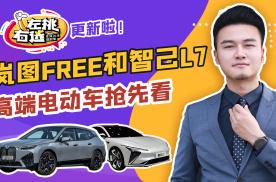 岚图FREE/智己L7领衔,下半年新车抢先看,高端电动车成主角?