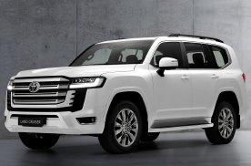 丰田全新一代兰德酷路泽发布 三个前脸配10AT 国内引进预计70万起