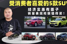受消费者喜爱的5款SUV,经济实惠有面子,销量表现抢眼值得买