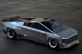 虽然特斯拉皮卡很另类,但改成跑车却视觉一流