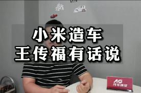 比亚迪王传福评小米造车:雷军,三年时间你浪费得起吗?