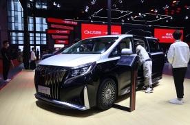 2021上海车展丨后排堪比头等舱 广汽传祺M8四座版首发亮相