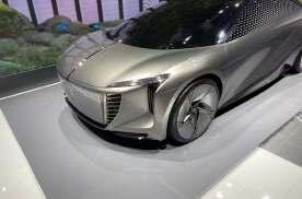 未来感十足2021上海车展红旗EV-Concept概念车