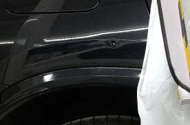 车身有凹陷怎么办?宝马X3凹陷修复案例!