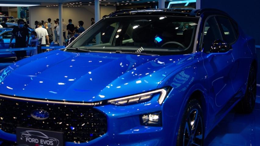 《【华宇娱乐登陆注册】设计亮眼的年轻小生,福特EVOS ST-Line正式亮相重庆车展!》