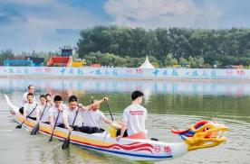 风阻最低的汉EV牵手史上最快的竞技龙舟,越民族越世界!