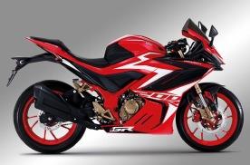 泰国GR200R仿赛摩托,200cc排量19马力,吊打国产