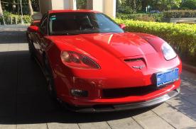 路遇美系肌肉车,搭载7.0L V8动力,据说3.5秒破百