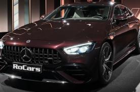 2022款奔驰AMG GT53亮相,这颜值内饰,太帅了!