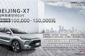 2020年最期待的自主品牌中型SUV BEIJING-X7重