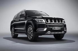 大型SUV 2020款北京BJ90正式上市,售69.80万起