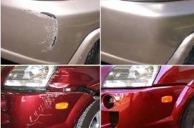 新车被划伤,补漆后还能贴隐形车衣吗?