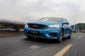 动力表现出色,行驶质感看齐更高级别,试驾吉利星瑞2.0T