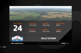 【预告】2021赛季WRC爱沙尼亚站各赛段概览