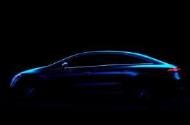 有望上海车展首发 奔驰EQS最新预告图曝光