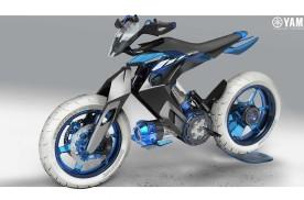 水驱动摩托2025年实现?雅马哈XT 500水动力概念摩托