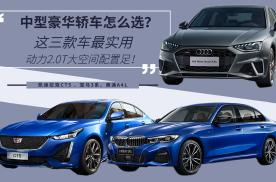 中型豪华轿车怎么选?这三款车最实用,动力2.0T大空间配置足