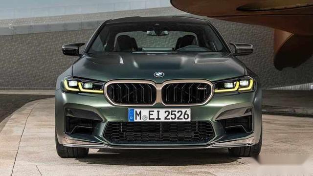 高性能车 宝马M5 CS车型官图发布