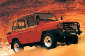 20万级价格,非承载车身、三把锁,北京越野推短轴版BJ40