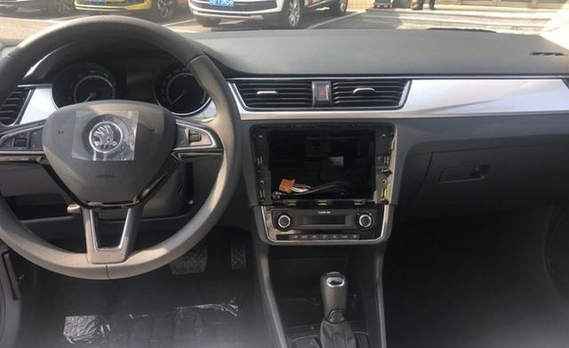 2020款斯柯达昕锐实车到店 售7.84万起 搭1.5L发动机