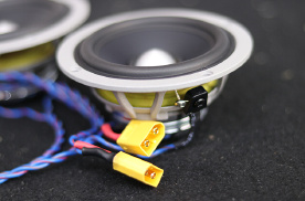 黄金声学GT165.3三分频+GE两分频,哈尔滨汽车音响改装