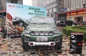 全新短轴越野王BJ40 西安上市售价16.99和20.20万
