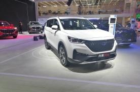 北京车展实拍|大7座中型SUV长安欧尚科赛Pro亮相