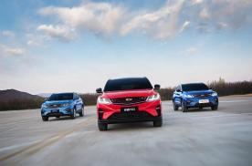 稳居小型SUV销量TOP3,吉利缤越将成细分市场最大赢家