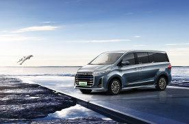 全球首款高端氢燃料电池MPV正式亮相,上汽大通MAXUS E