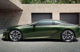 新款雷克萨斯旗舰跑车LC新增两种外观配色