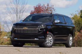 雪佛兰最霸气的SUV,全新萨博班实车,6缸涡轮引擎配大7座