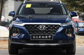 全新北京现代胜达6座SUV,外观、内饰、配置、动态高清实拍