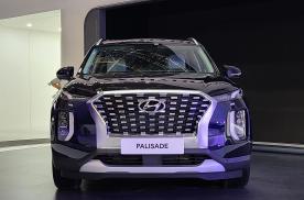 3.0L V6的韩系中大型SUV亮相!实拍现代帕里斯帝