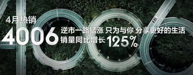 同比增长125%跑赢大盘,广汽新能源4月达4006台,明星车型受追捧