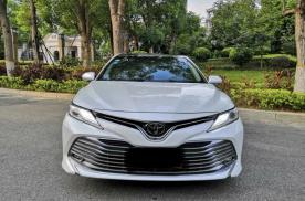 喜提选择2.5L丰田凯美瑞豪华版,优惠1.1万算便宜吗