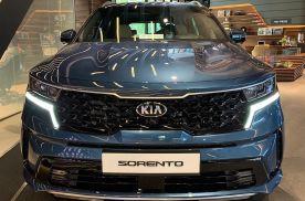 起亚索兰托海外实拍图 搭载2.2T柴油发动机