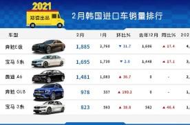 「韩系动向297」奔驰GLB成为韩国最畅销SUV?
