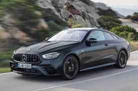 新款奔驰E级/AMG E级轿跑官图 外观/动力小幅调整