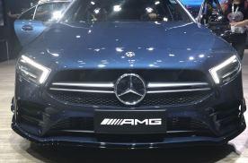 广州车展:国产加长的40万性能车,奔驰AMG A35L