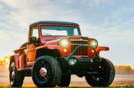横跨五十年!看看收藏大神的经典好车1955牧马人皮卡