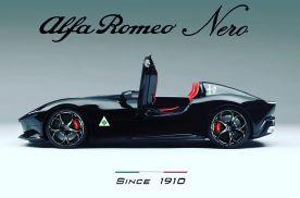 阿尔法罗密欧新车渲染图曝光 敞篷造型酷似法拉利Monza
