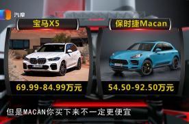 喜欢旅游 新款保时捷MACAN和宝马X5谁更值得入手?