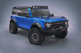 2021款福特Bronco皮卡渲染图曝光 或7月亮相