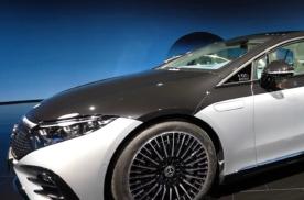 将推出首发版!奔驰EQS实车图曝光,将在上海车展期间亮相