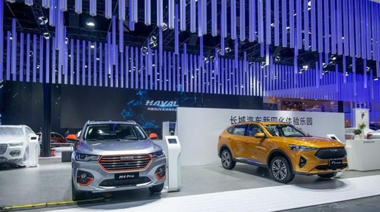 长城汽车携四大品牌发力,重磅新车惊艳成都车展,有何亮点?视频