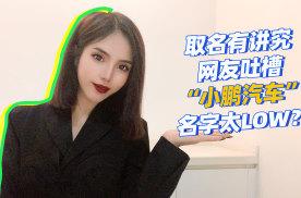 """取名有讲究,网友吐槽""""小鹏汽车""""名字太LOW?"""